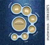 vector web design template.... | Shutterstock .eps vector #108610871