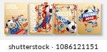 football background eps 2018... | Shutterstock .eps vector #1086121151