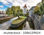 prague  czech republic  ... | Shutterstock . vector #1086139814