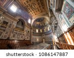 rome  italy  march 09  2018 ...   Shutterstock . vector #1086147887