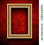 picture frame wallpaper... | Shutterstock .eps vector #108616001