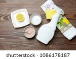eco friendly natural cleaners... | Shutterstock . vector #1086178187