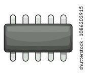 weak microprocessor icon.... | Shutterstock . vector #1086203915