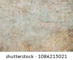 old concrete wall texture  | Shutterstock . vector #1086215021