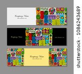 banners design  ethnic floral... | Shutterstock .eps vector #1086243689