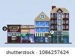 3d rendering pixel art... | Shutterstock . vector #1086257624