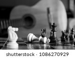 chess photographed on a... | Shutterstock . vector #1086270929