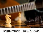 chess photographed on a... | Shutterstock . vector #1086270935
