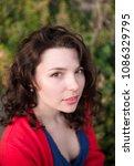 sexy beauty girl  fashion...   Shutterstock . vector #1086329795