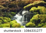 sol duc falls in port angeles ... | Shutterstock . vector #1086331277