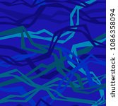 angular interlacing threads   Shutterstock .eps vector #1086358094