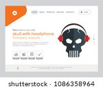 quality one page skull with...