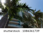 tropical real estate background ... | Shutterstock . vector #1086361739
