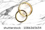 forever together wedding rings... | Shutterstock . vector #1086365654