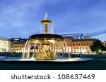 Fountain At