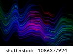 dark multicolor  rainbow vector ... | Shutterstock .eps vector #1086377924