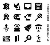 filled other icon set such as... | Shutterstock .eps vector #1086385889