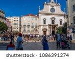 lisbon portugal. 06 may 2018.... | Shutterstock . vector #1086391274