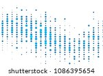 light blue vector  background... | Shutterstock .eps vector #1086395654