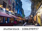 galway city  ireland   4th may  ...   Shutterstock . vector #1086398957