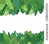 vector cartoon style background ... | Shutterstock .eps vector #1086410924
