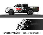 car wrap vector designs.... | Shutterstock .eps vector #1086421031