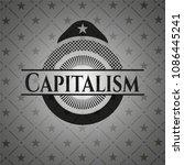 capitalism realistic black... | Shutterstock .eps vector #1086445241