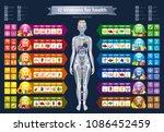 mineral vitamin supplement ... | Shutterstock .eps vector #1086452459