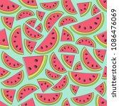 multicoloured summer texture... | Shutterstock .eps vector #1086476069