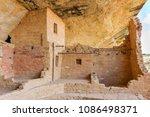 mesa verde national park cliff... | Shutterstock . vector #1086498371