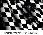 Racing flag texture