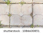 decorative tiles on the... | Shutterstock . vector #1086630851