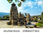 beautiful image of baijnath... | Shutterstock . vector #1086637361