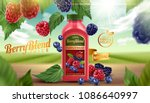 Berry Blend Bottled Juice With...