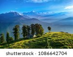 view of beautiful panchchuli... | Shutterstock . vector #1086642704