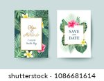 summer card design. save the... | Shutterstock .eps vector #1086681614