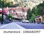 the jenolan cave hotel is a... | Shutterstock . vector #1086682097
