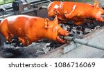 barbecued suckling pig bbq... | Shutterstock . vector #1086716069