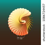 3d vector illustration with... | Shutterstock .eps vector #1086724457