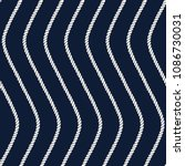 seamless nautical rope pattern. ... | Shutterstock . vector #1086730031