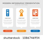 business infographic template... | Shutterstock .eps vector #1086746954