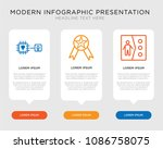business infographic template... | Shutterstock .eps vector #1086758075