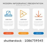 business infographic template...