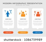business infographic template... | Shutterstock .eps vector #1086759989