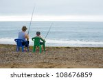 grandfather and grandson go... | Shutterstock . vector #108676859