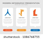 business infographic template... | Shutterstock .eps vector #1086768755