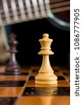 chess photographed on a... | Shutterstock . vector #1086777905