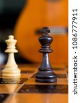 chess photographed on a... | Shutterstock . vector #1086777911