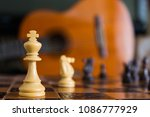 chess photographed on a... | Shutterstock . vector #1086777929
