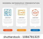 business infographic template... | Shutterstock .eps vector #1086781325